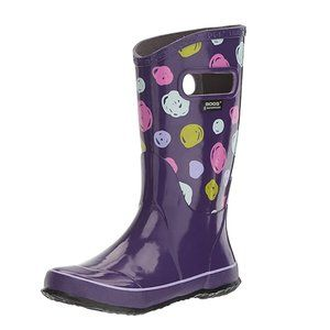 BOGS Unisex Kids Rubber Boot Waterproof Rain